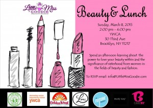 Beauty and Brunch Flyer 2015